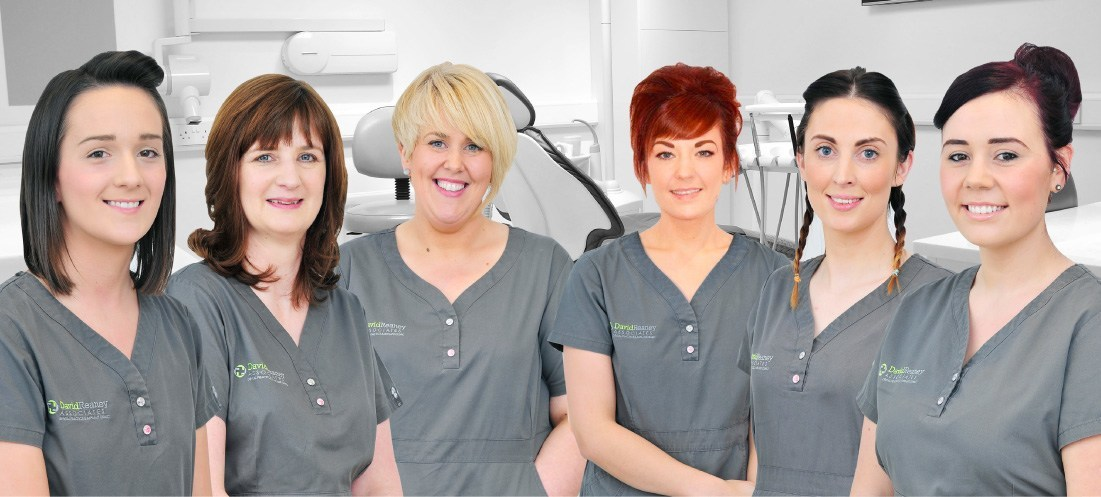 Dental Nurses at David Reaney Dental Practice, Northern Ireland